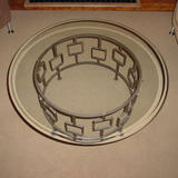 round square coffee table