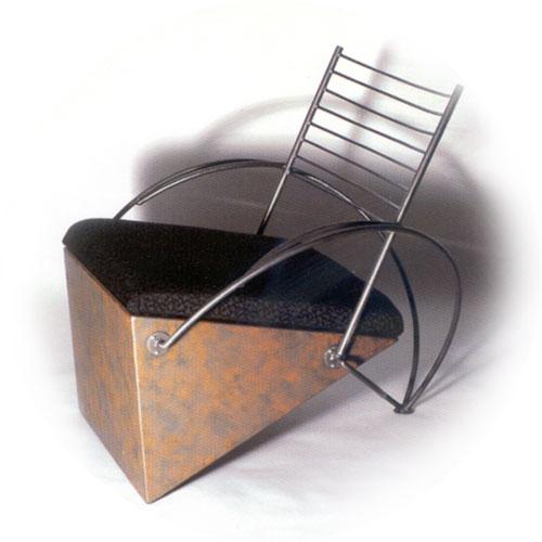Triangle Chair Christopher Joyce Art Design